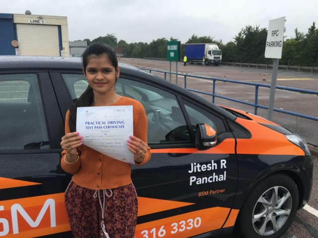 driving lessons leicester - Panchal Driving Academy - Kinjal