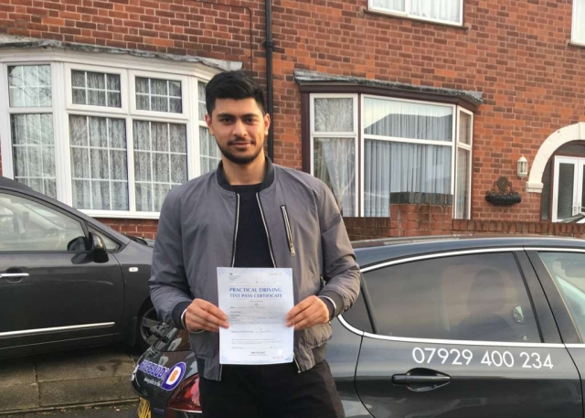 driving lessons leicester - Panchal Driving Academy - Manvir