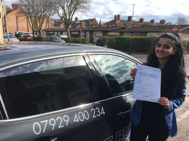 driving lessons leicester - Panchal Driving Academy - Anjali