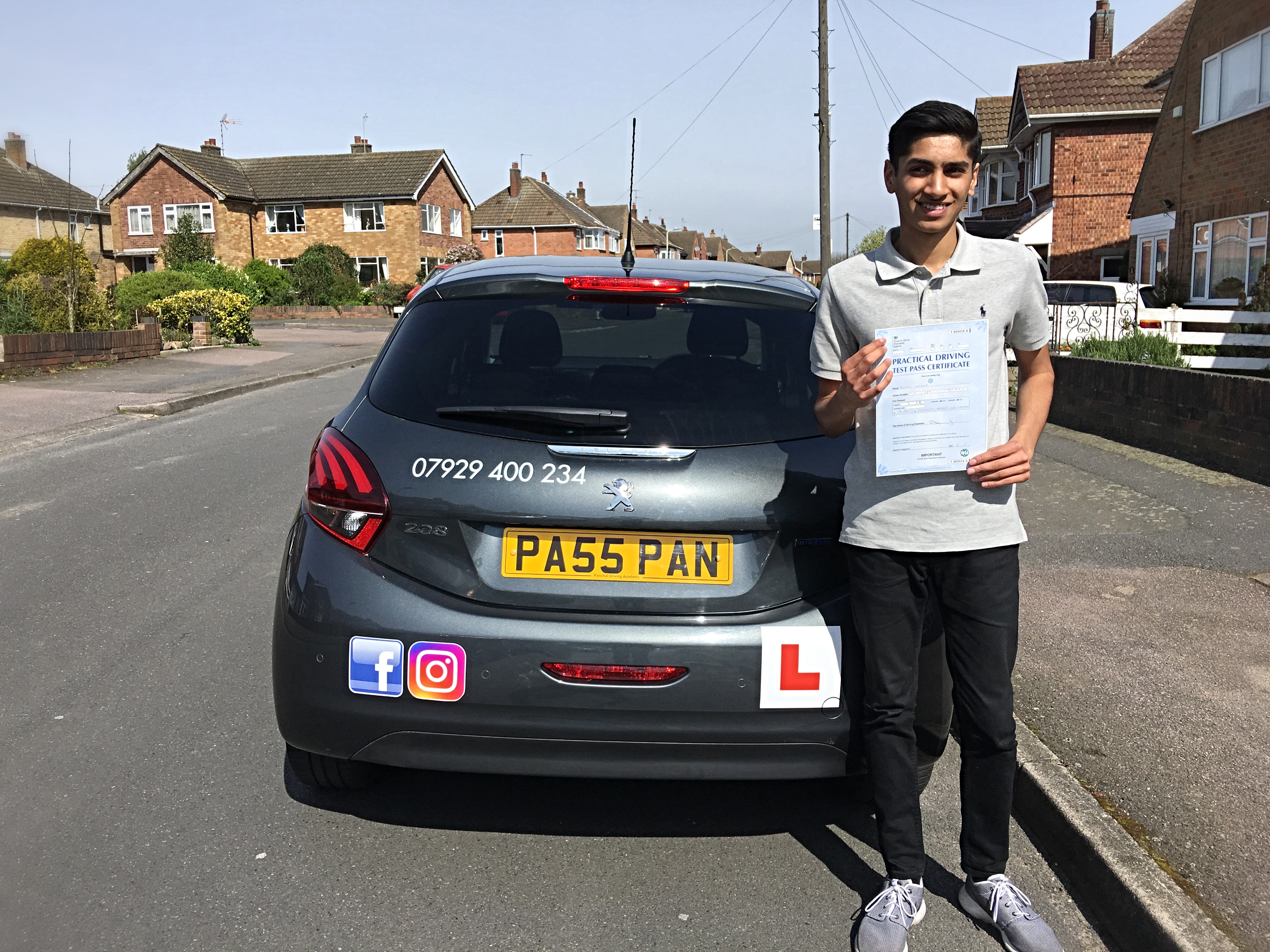 driving lessons leicester - Panchal Driving Academy - Dilan