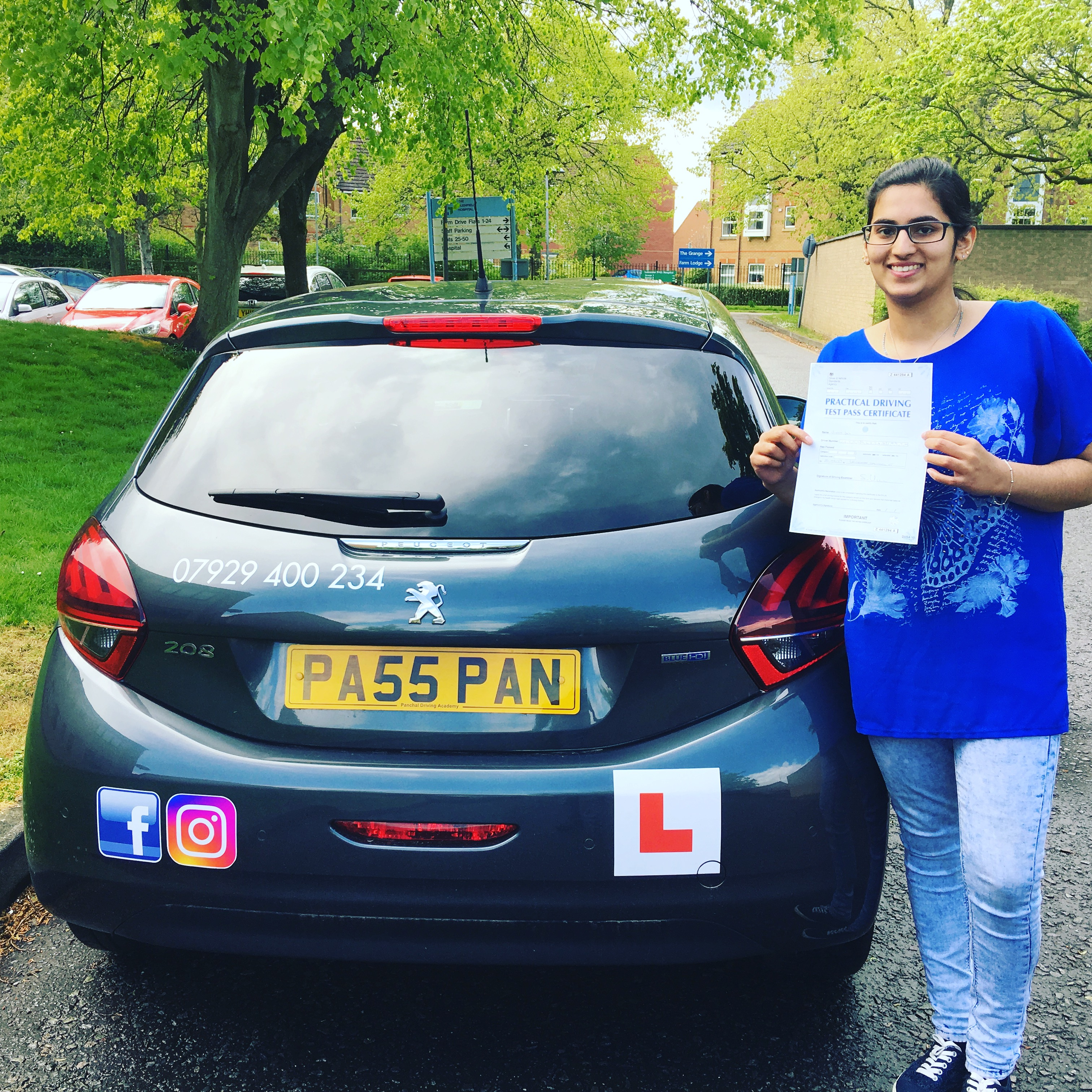 driving lessons leicester - Panchal Driving Academy - Jincy