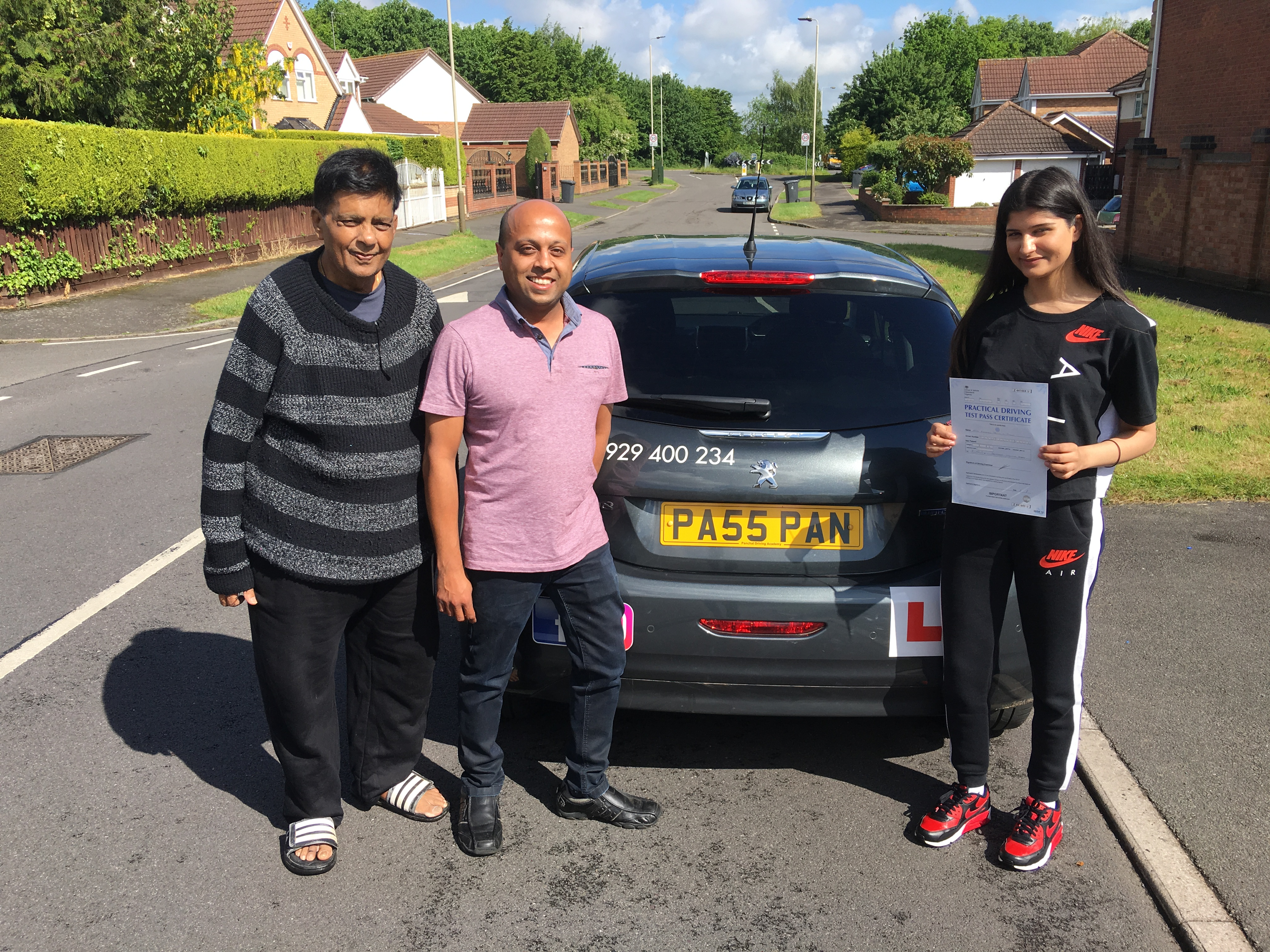 driving lessons leicester - Panchal Driving Academy - Eashani Pabari
