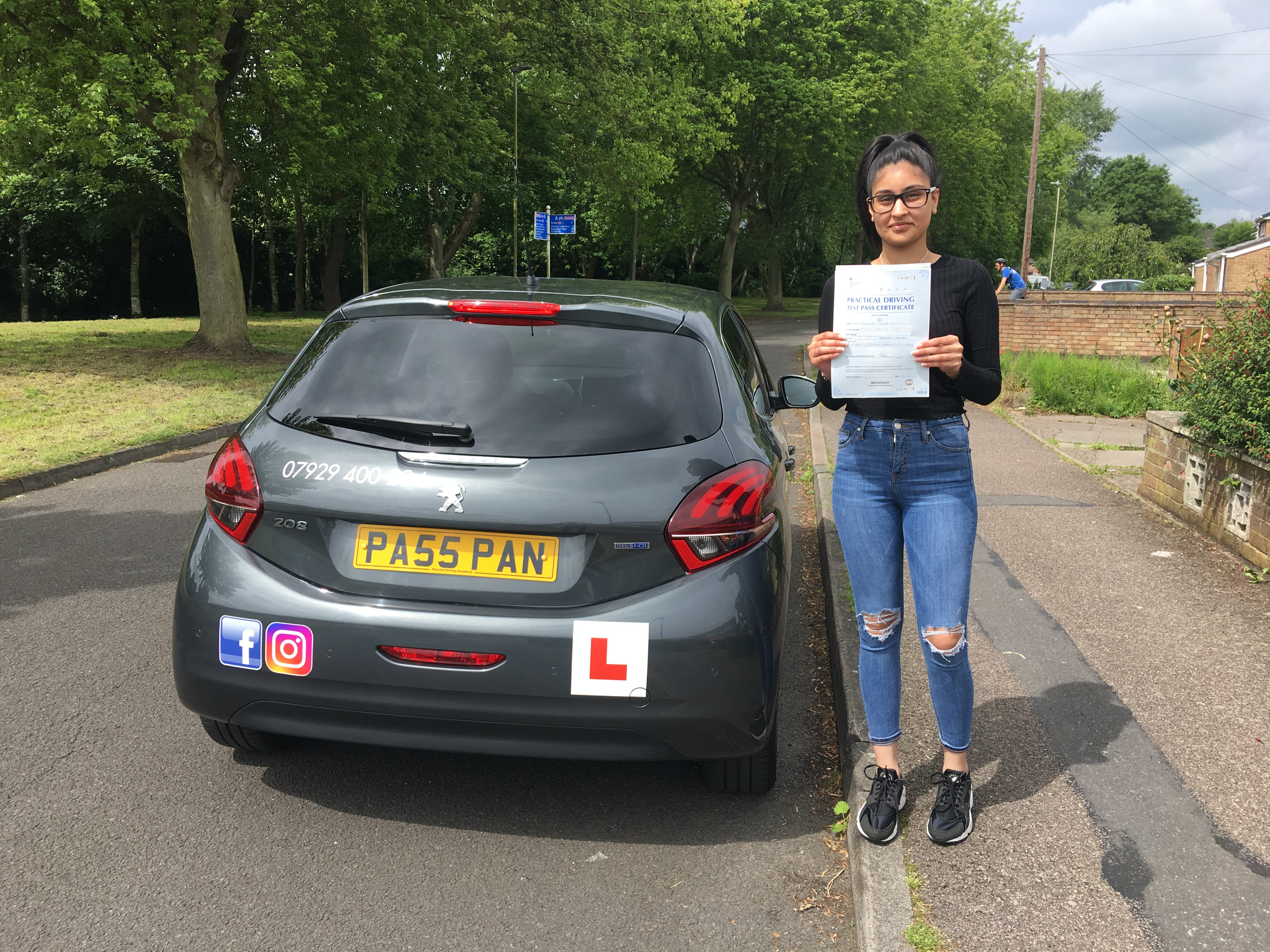 driving lessons leicester - Panchal Driving Academy - Jess