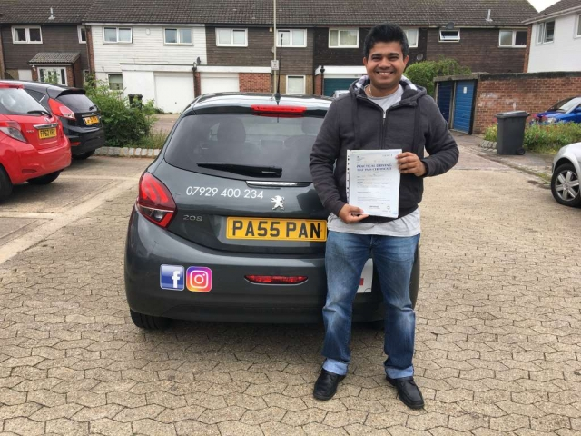 driving lessons leicester - Panchal Driving Academy - Pinsara