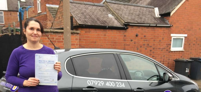 driving lessons leicester - Panchal Driving Academy - Claudia Tanase