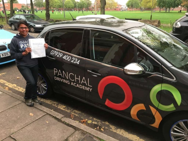driving lessons leicester - Panchal Driving Academy - Jyotsna