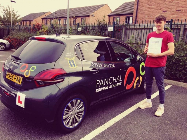 driving lessons leicester - Panchal Driving Academy - Nathanael Farley