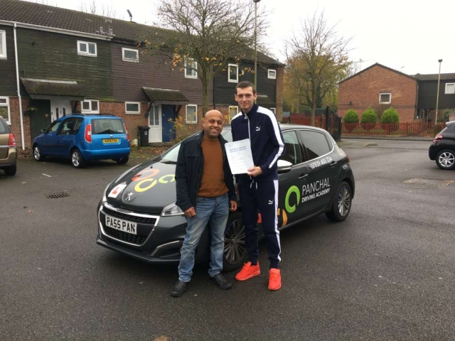 Driving Lessons Leicester - Panchal Driving Academy - Ross